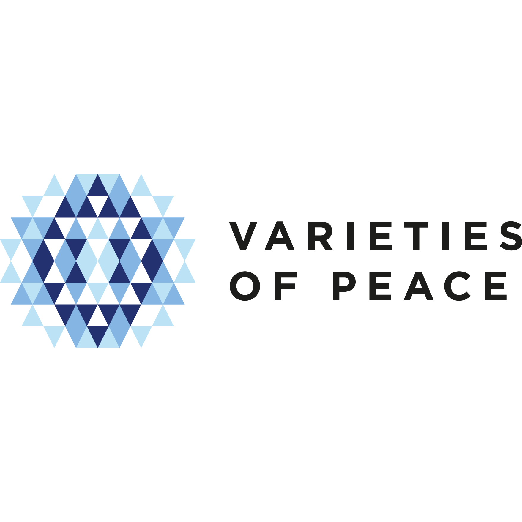 Varieties of Peace logotypy